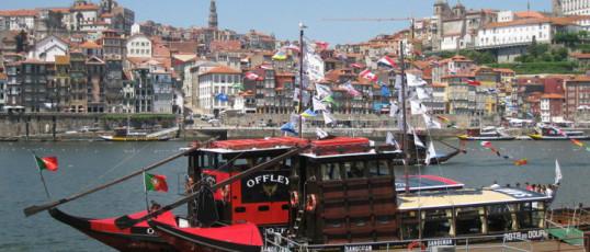 """Flusskreuzfahrt auf dem Douro""- Portugal"
