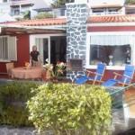 Die Terrasse unserer Casa Palmeira