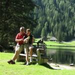 kurze Rast am Etrachsee